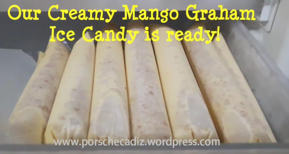 Creamy Mango Graham Ice Candy   Porsche's Diary
